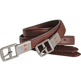 MTL European Style Double Leather Stirrup Leathers